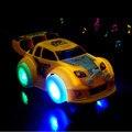 Новое Прибытие Потрясающие LED Универсальный Музыка Автомобиль Игрушки Автоматического Управления Освещение Автомобиль Игрушки Лучший Подарок Для Детей
