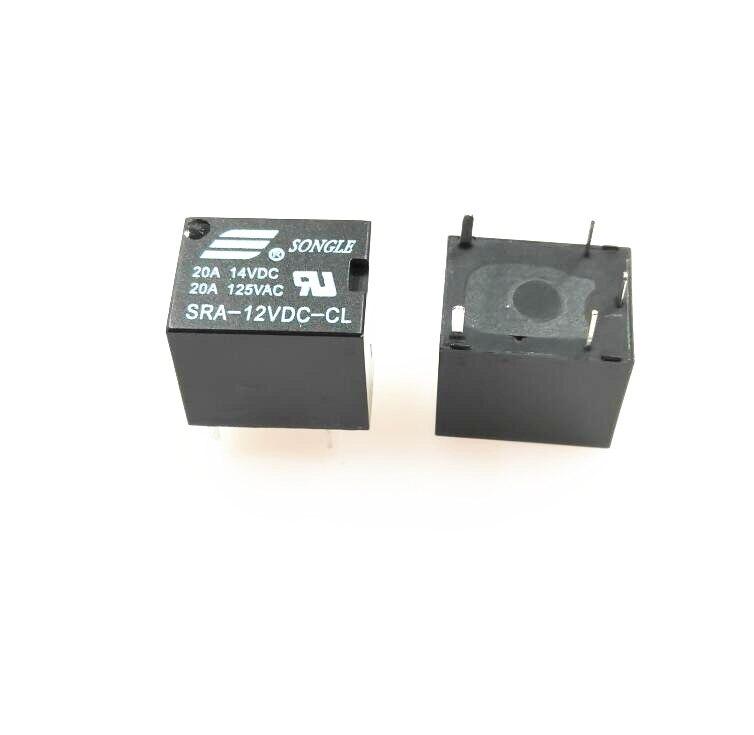 5pcs  NEW    Songle relay  SRA-06VDC-CL