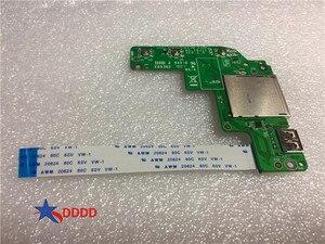 Original PARA MSI Ge72 GE62 GP62 GP72 Apache Série Botão De Energia Placa De Leitor De Cartão USB W/cabo Ms-16j12 100% trabalhando perfeito