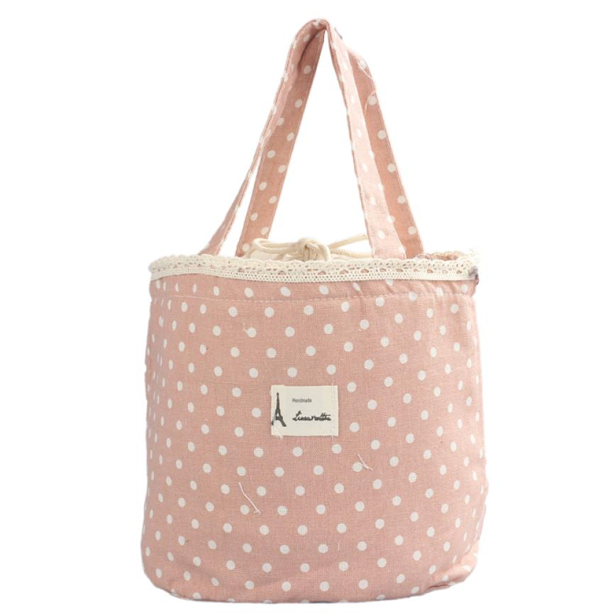 Hot Sale Thermal Insulated Lunch Box Tote Cooler Linen Cotton + Aluminum Bag Bento Pouch Lunch Container For To Work 10Jun 11 tote bags for work