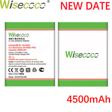 Wisecoco BV4000 4500mAh Newly Produced Battery For Blackview / BV 4000 Pro High Quality Phone Replacement