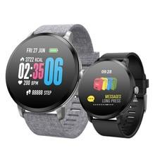 IP67 V11 Relógio Inteligente Pedômetro Rastreador De Fitness Monitor de Freqüência Cardíaca À Prova D' Água Esporte Alarm Clock Smartwatch Para iPhone Xiaomi