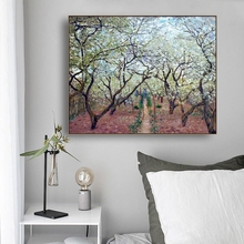 Pear flower Tree by Van Gogh Famous Wall Art Poster Print Canvas Painting Calligraphy Decor Picture for Living Room Home