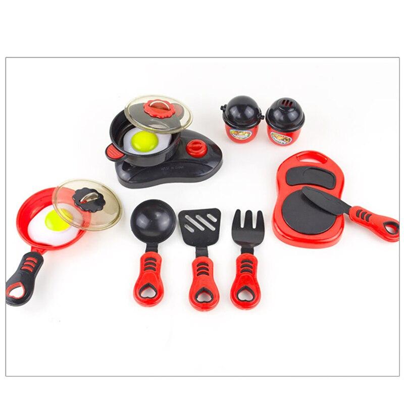 Лидер продаж 12 шт. детская Кухня Дом играть Puzzle игрушки День рождения изложе Еда игрушка отличным партнером игрушки для детей, играющих весе... ...