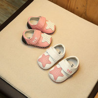 Baby Shoes Lovely Boys Girls Infant Toddler First Walker Cute