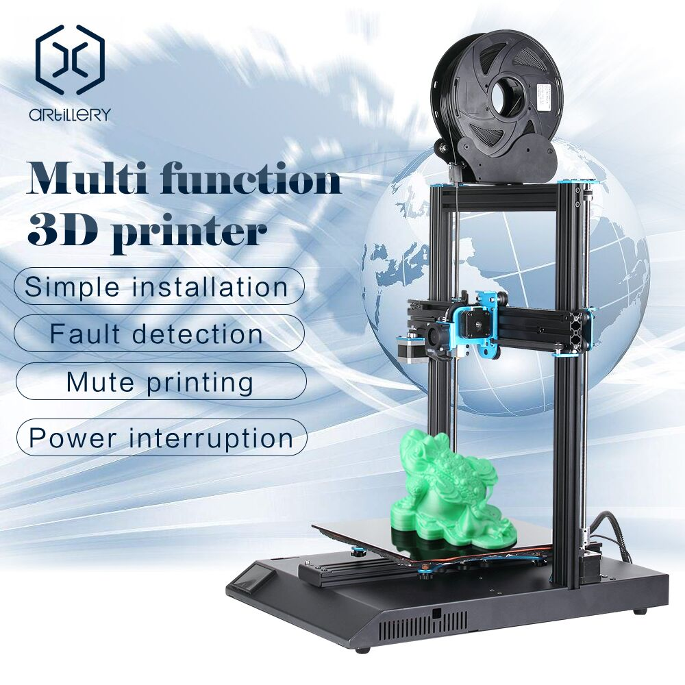 US $388 7 35% OFF 3D Printer Artillery Sidewinder X1 SW X1 High Precision  Full Metal Frame 3d printer 300*300*400mm Large Plus Size Fast Heat Up-in  3D