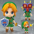 Hot! The Legend of Zelda Link Majora's Mask 3D ver.#553 PVC Action Figure Collectible Model Toy 10cm
