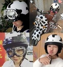 2016, Лето, Новый Harley стиль мотоциклетный шлем ABS электрический велосипед мотоцикл шлемы с шарфом и очки мужчины/женщины пара