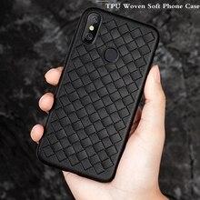 Xwmkai Luxury Braided Soft Phone Case For Xiaomi Mi 8 Se Lite Ultra thin TPU Breathable