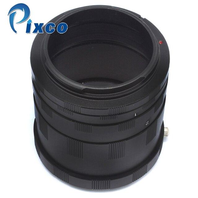 ADPLO Macro Tubo di Prolunga Per CANON EOS EF DSLR Macchina Fotografica 4000D (3000D), 2000D (1500D), 6D Mark II Fatto di metallo (non plastica)