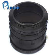 Tube dextension ADPLO Macro pour CANON pour appareil photo EOS EF DSLR 4000D (3000D), 2000D (1500D), 6D Mark II en métal (pas en plastique)