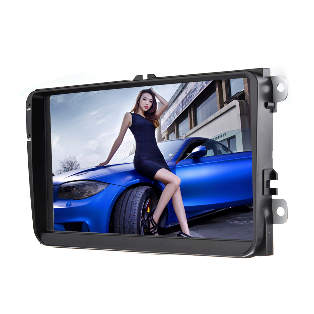 Touch Screen 9 Inch Multimedia Bluetooth WIFI Car Navigator Radio MP5 Audio Player GPS Reversing Camera Video RDS European Map