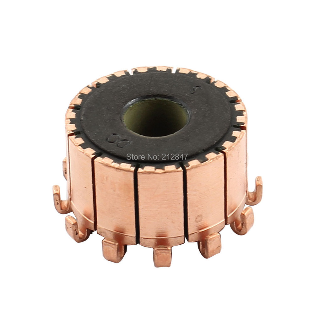 10mm Dia Shaft 12 Tooth Copper Shell Mounted On Electric