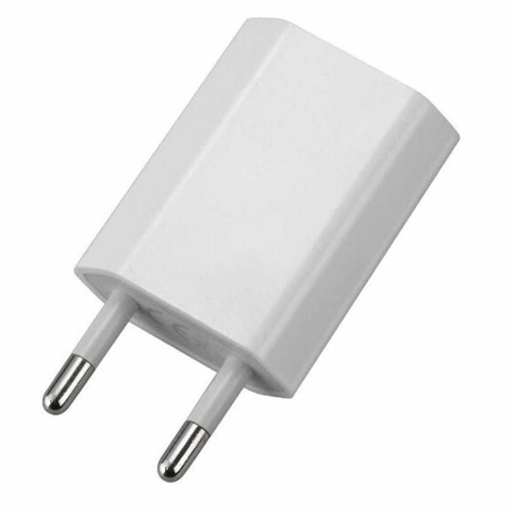 Enchufe del cargador de 5 v adaptador de corriente USB adaptador de enchufe de la UE de pared cargador de viaje para iphone para Samsung S7 enchufe usb caricatore usb