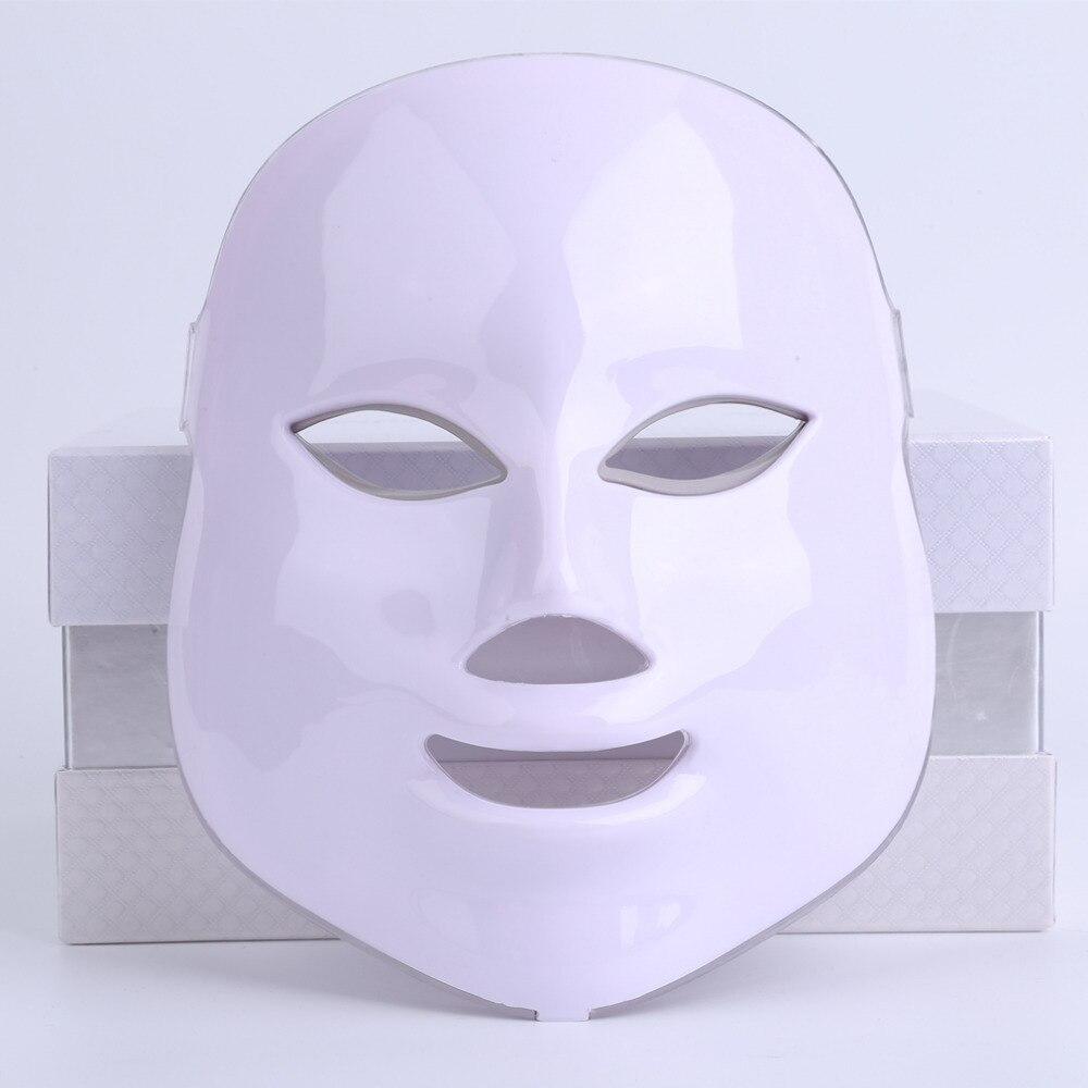 Photodynamic LED Facial Mask Home Use Beauty Instrument Anti acne Skin Rejuvenation LED Photodynamic Beauty Face Massage Gifts beauty instrument home facial detoxification acne skin rejuvenation introducer lifting firming wrinkle massage beauty equipment