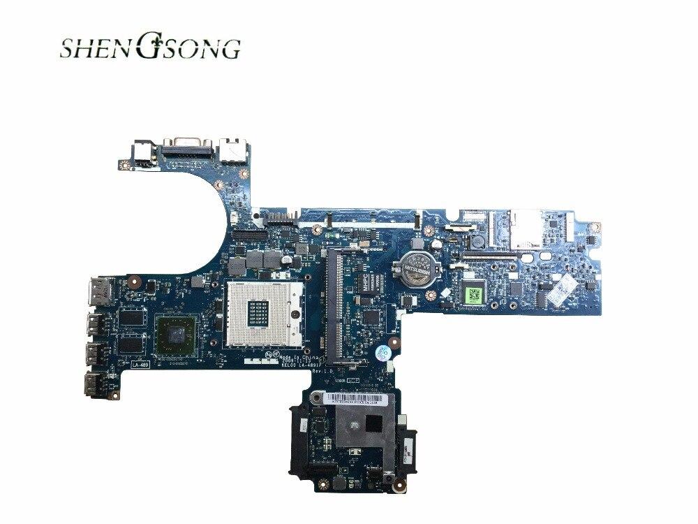 все цены на 593839-001 Free Shipping LA-4891P Main Board For Hp probook 6440B 6540B Laptop Motherboard HM57 DDR3 HD5430 GPU онлайн