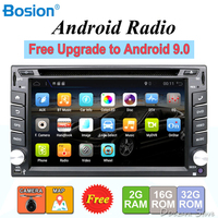 2 din android 9.0 car radio tape recorder stereo For Universal 2din autoradio car dvd GPS Navigation Steering Wheel Wifi Map