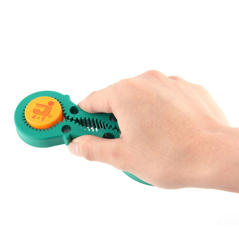 Hot Creative Jar Opener Multi Purpose Jar Lids Bottle Cap Grip Twister Rubber Opener Tool
