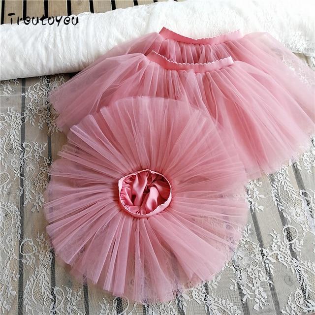 618a3d5fc3 Meninas do bebê Saia Tutu Fofo para Crianças Saias de Balé Princesa Festa  de Dança Bailarina