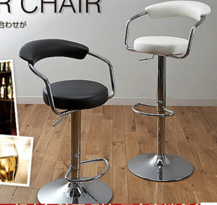 European style bar chair tall tables and chairs Simple makeup stool ...