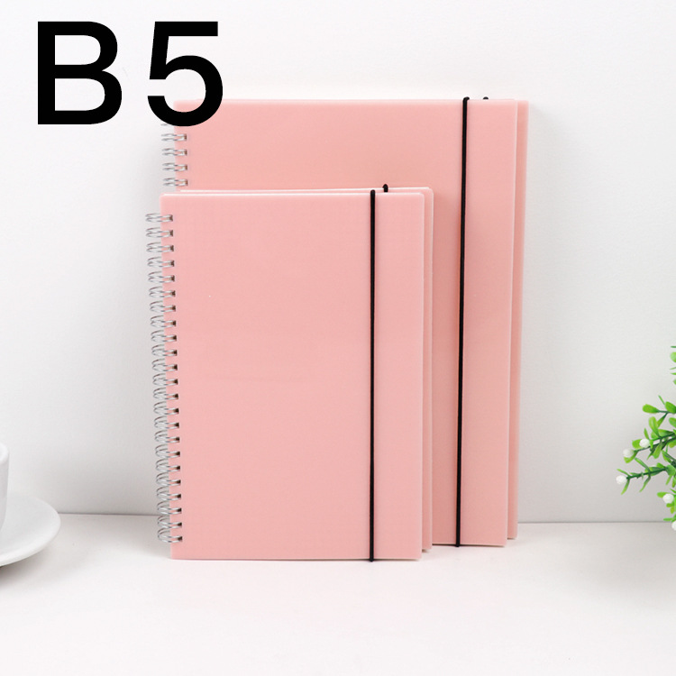 Brief Business Fashion Notebook B5 Grid/Dot/Blank/Lined Paper 80 Sheets School Office Supplies Free Shipping DIY Journal Gift the lovely colorful world and flamingo fashion diy a5 journal pu leather 216p 2017 students office supplies free shipping