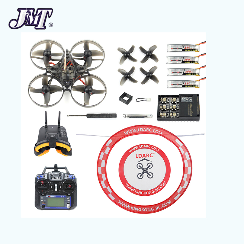 Mobula 7 V2 RTF Kit 75mm Crazybee F4 Pro OSD 2S BWhoop RC <font><b>FPV</b></font> Racing <font><b>Drone</b></font> Mobula7 Quadcopter with <font><b>FPV</b></font> Watch <font><b>Goggles</b></font> Apron FS i6 image