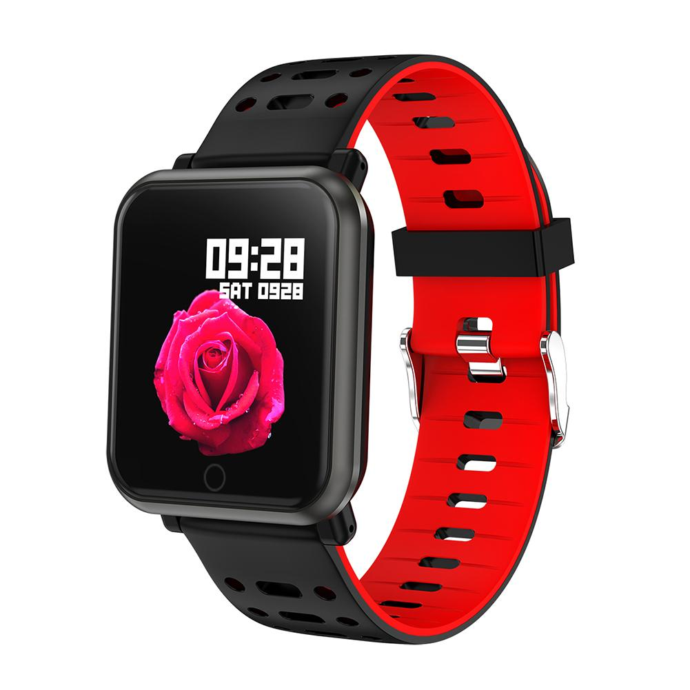 Image 4 - Color Screen Smart Bracelet Tracker Heart Rate Blood Pressure Blood Oxygen Step Sleep Detection Call Message Bluetooth Wristband-in Smart Wristbands from Consumer Electronics