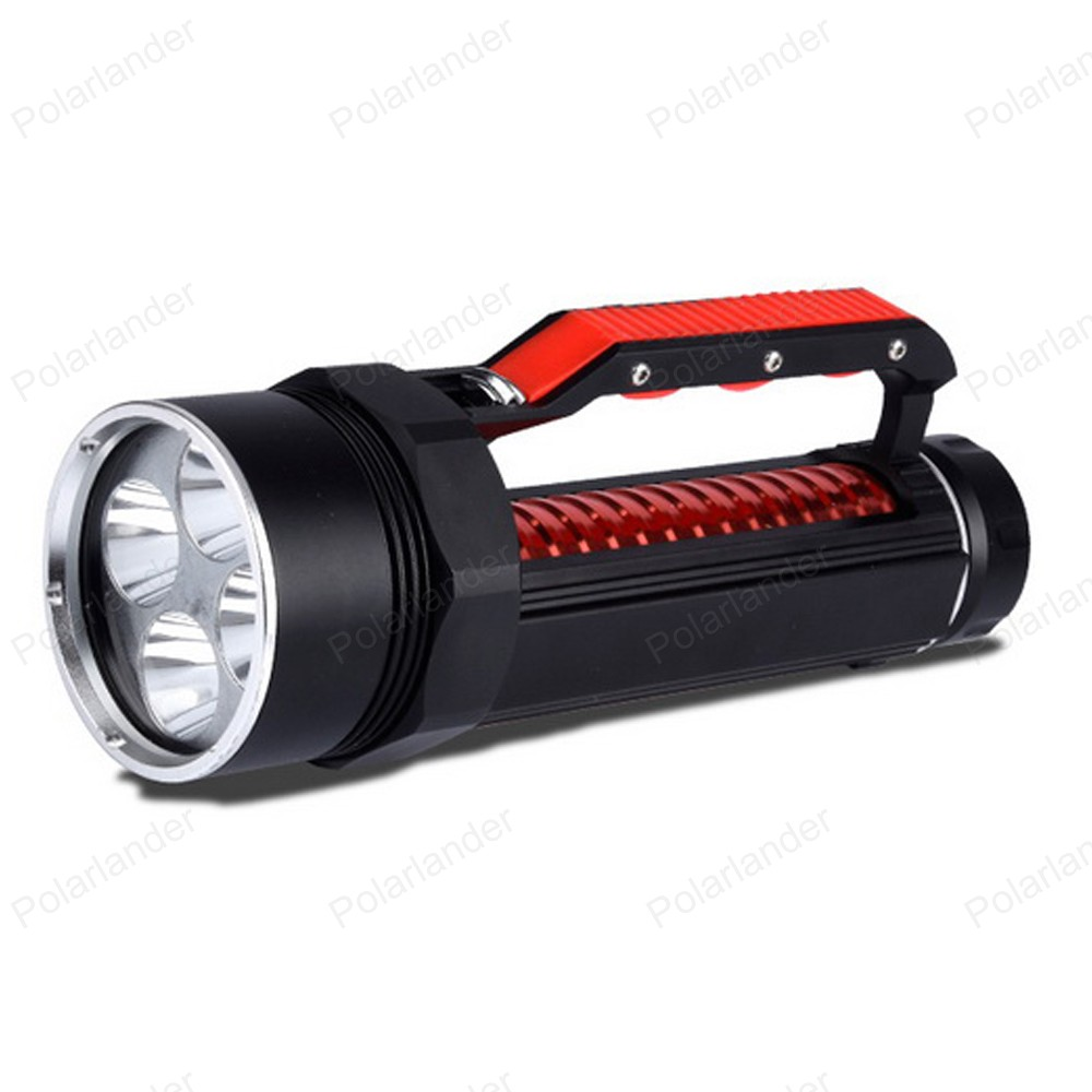 Well designed diving font b LED b font font b flashlight b font 4 lights portable