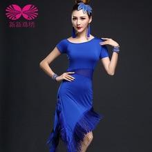 2017 Latin Dance Dress Latin Dress Limited Time-limited Women Acrylic Tango Womens Ballroom Rumba Cha Samba Dance