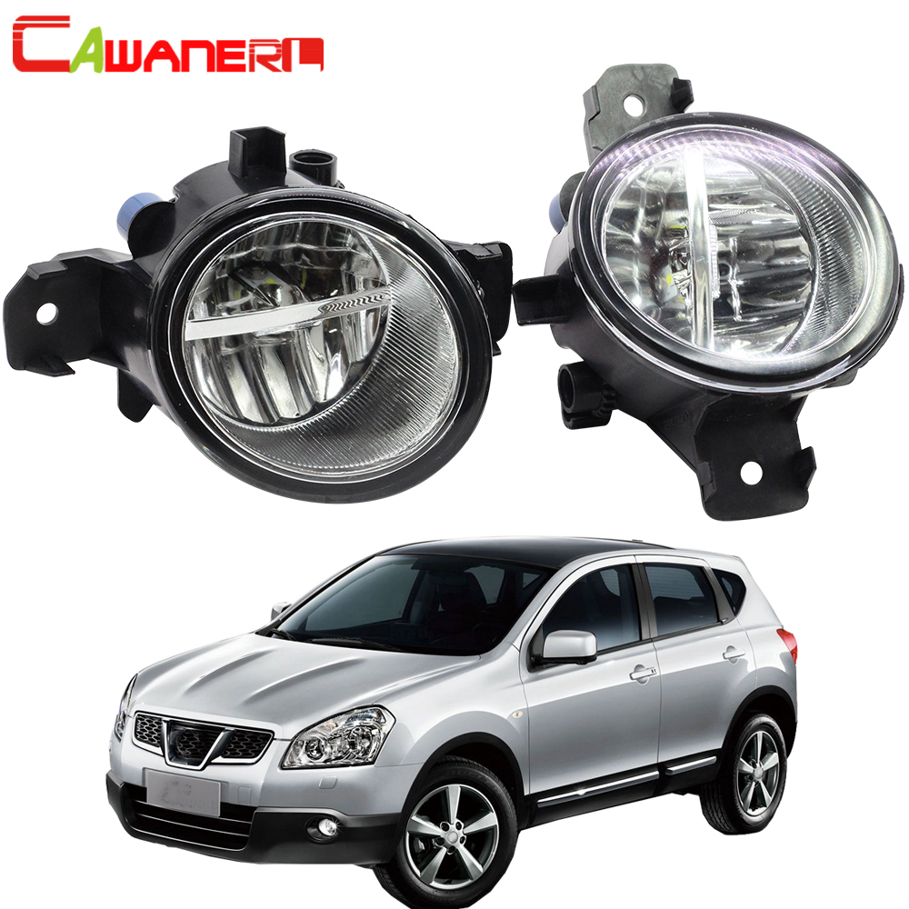 Hot Sale] Cawanerl Car LED Bulb Right + Left Fog Light DRL