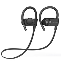 Bluetooth Sports Earphone Headphones IPX4 Waterproof Wireless Headset Mic Neckband Noise Canceling Stereo Earphones