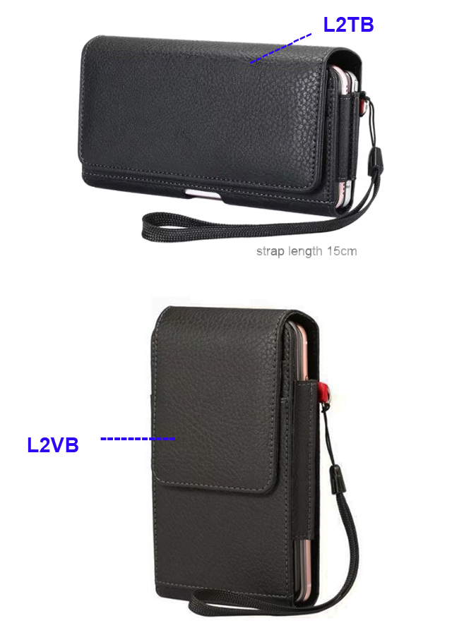 Vertical Horizontal Strap Belt Clip Dual Mobile Phone Leather Case Card Pouch For Samsung Galaxy Note8