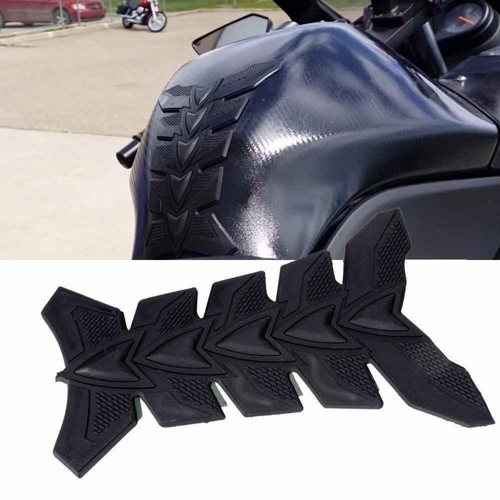 MTImport R1200GS S1000RR R9T دراجة نارية ثلاثية الأبعاد لوحة مطاطية النفط الغاز خزان الوقود حامي غطاء ملصق مائي لياماها لسيارات BMW