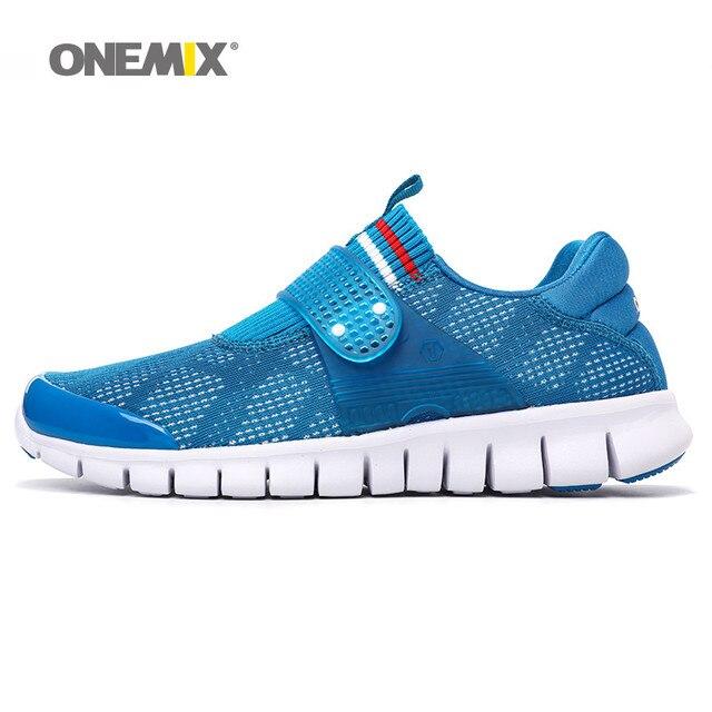 Onemix мужчины кроссовки летом прохладно спортивная обувь дышащие кроссовки для женщин super light прогулочная обувь для size36-45