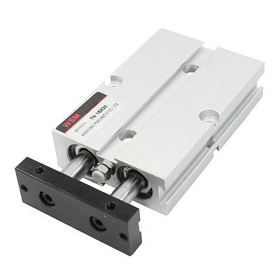 16mmx30mm Dual Action Double Rod Guide Pneumatic Air Cylinder  Free Shipping tda20 30 biaxial cylinder tda20 30 double rod cylinder tn20 30 pneumatic components tn20x30 cylinder