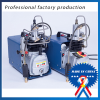 free shipping High Pressure Pump 30mpa Electric Air Pump Compressor Water Cooled Single Cylinder