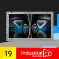19 Дюймов Резистивный Сенсорный Широкоформатный Монитор С Интерфейсом VGA Open Frame ЖК-Монитор Для Промышленности