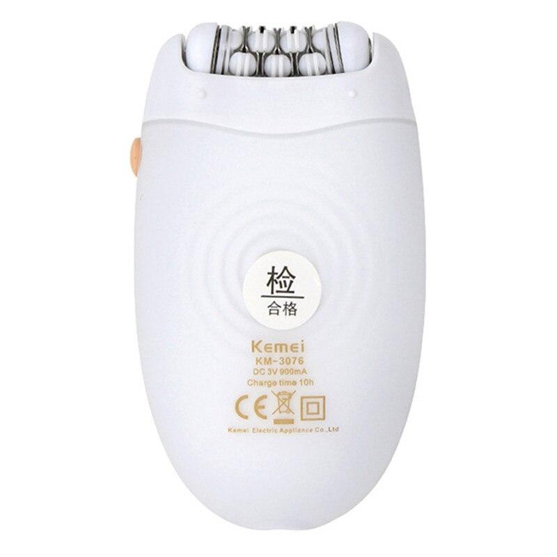 Kemei KM 3076 2 in 1 epilator women trimmer for women electric epilator  white lady shaver for bikini hair removal multi function-in Epilators from  Home ... 55d4d5a761