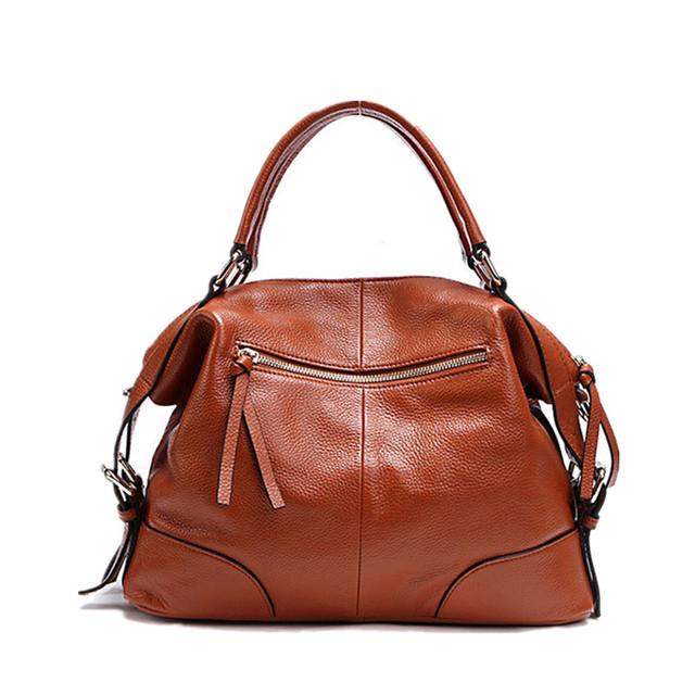 Realer Genuine Leather Women Handbag