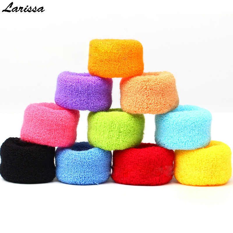 Larissa 12Pcs towel hair rope for women Candy color elastic hair bands rubber band holders ties thick wide girl hair accessories