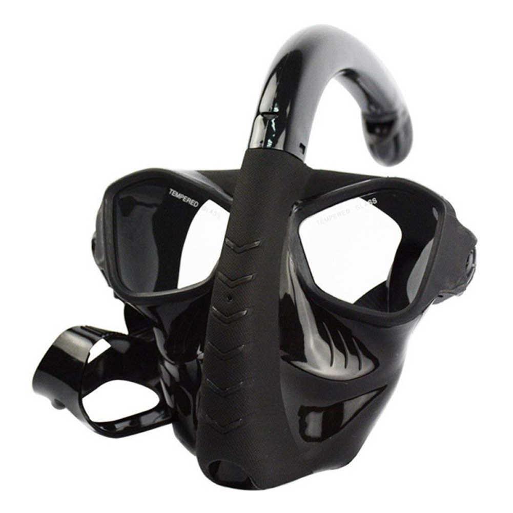 Snorkelen Masker Snorkel Buis Set Anti-fog Zwemmen Duikbril met Gemakkelijk Adem Droog Snorkel Buis Snorkelen Bril
