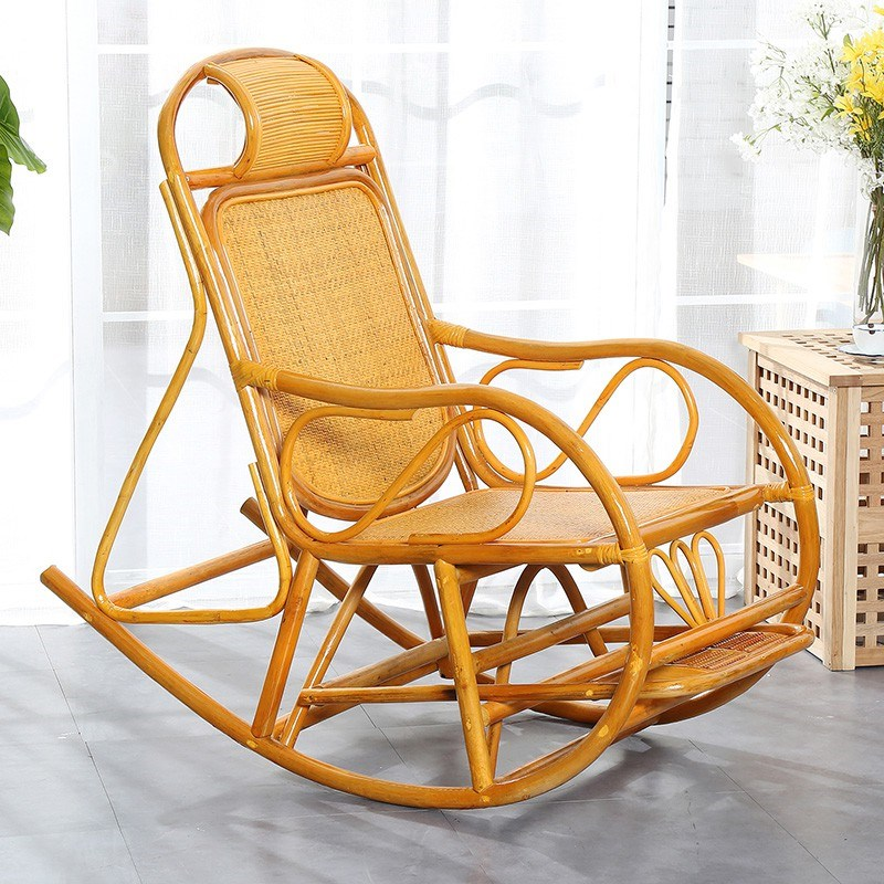 Surprising Time Limit Natural Rattan Rocking Chair Rattan Wicker Spiritservingveterans Wood Chair Design Ideas Spiritservingveteransorg
