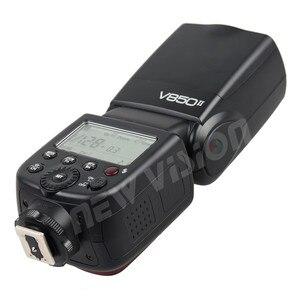 Image 3 - Godox V850II 2.4G GN60 Wireless X System Li ion Battery Speedlite for Canon Nikon Sony Pentax Olympus + Free 15*20cm Softbox Kit