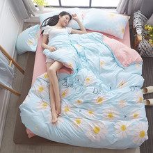 Home Cotton bedding sets Around the World bed linen duvet cover clothes Queen Full Twin 3 Pcs / 4
