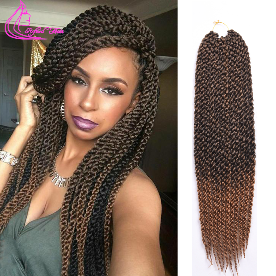 Twist Crochet Braids Braiding Hair Ombre Brading Hair Ombre Box Braids ...