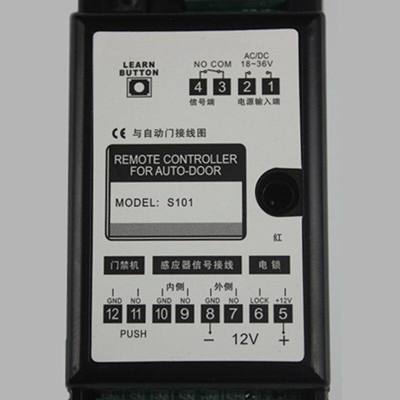 Garage Door Opener Generic Remote Control Receiver Kit