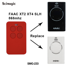 FAAC XT2 XT4 868 SLH LR substituição da porta da garagem controle remoto 868 mhz