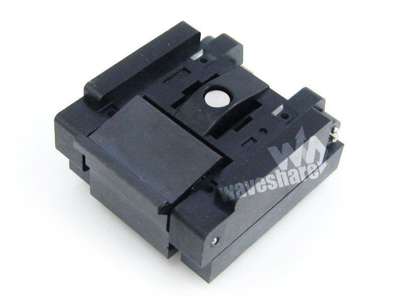 QFN32 MLP32 MLF32 QFN-32(40)B-0.5-025x5 mm 0.5Pitch Enplas IC Test Burn-In Socket QFN Adapter rtm885n 914 qfn