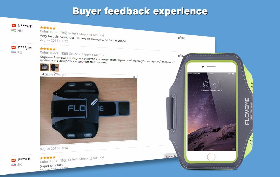 Fabulous Feedback Experience For ARMBAND case For Apple Iphone For SAMSUNG