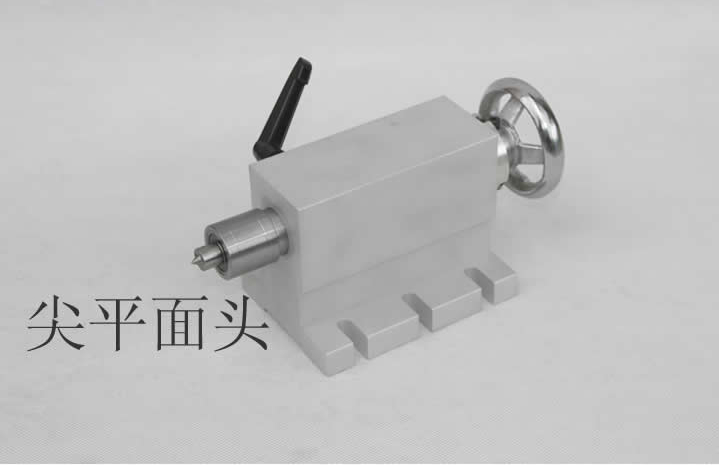engraving machine fourth axis A shaft of the tailstock axis of rotation parts big tip stay top CNC dividing head 1pcs
